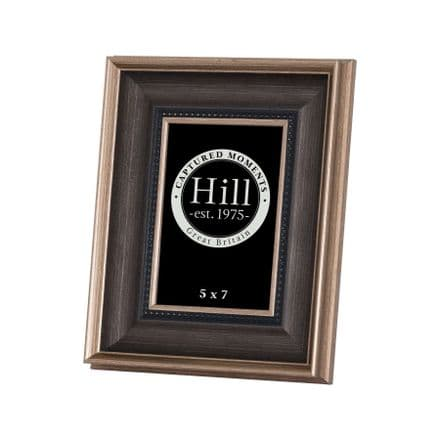 Antique Gold With Black Detail Photo Frame 5X7